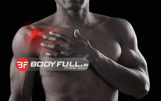 صدمات مفصل شانه و اثرات سوء آن