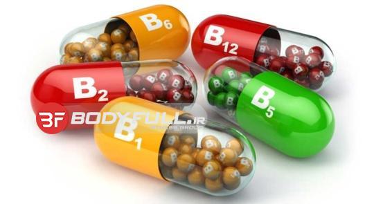 اشاره به ویتامین کاربردی در بدنسازی