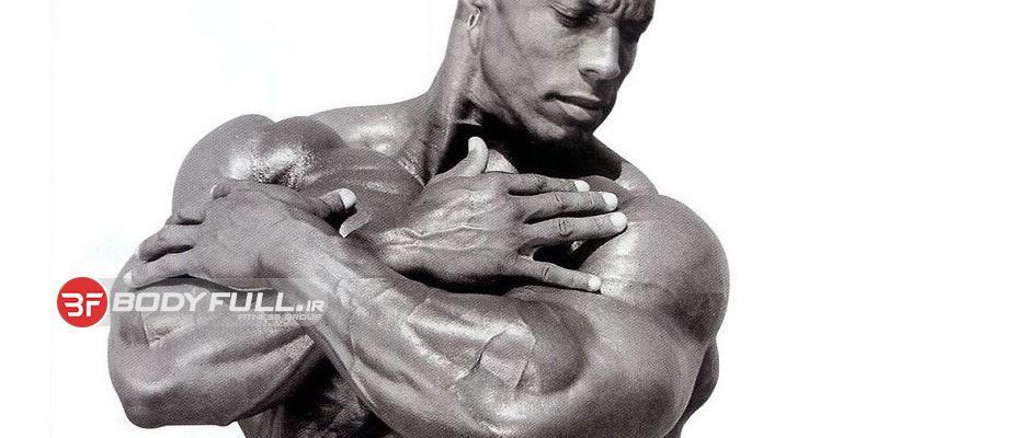 تمرین با اسطوره زیبایی بدن