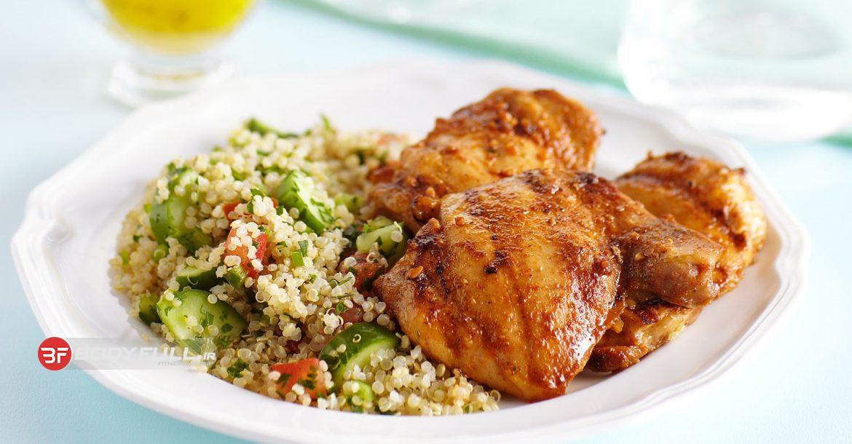 دستورالعمل پخت بوستر مرغ با پروتئین بالا