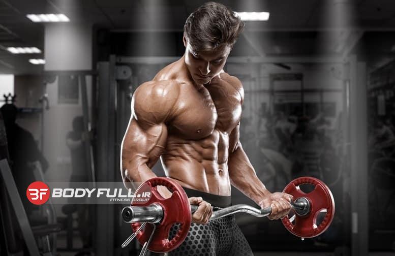 تمرین بر روی عضلات جلوبازو