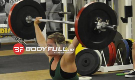 حرکت یک ضرب وزنه برداری