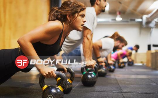 کراس فیت بانوان در کنار تناسب اندم باعث چابکی و قدرت بدنی بالا می شود.
